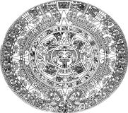 Aztec calendar Stock Photos