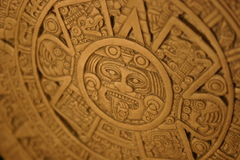 Aztec Calender. (End of World Royalty Free Stock Images