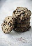 Aztec Chocolate Cookies Stock Photography