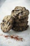 Aztec Chocolate Cookies Stock Photos