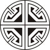 Aztec circular design Stock Images