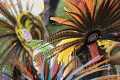 Aztec dance royalty free stock photos