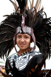 Aztec Dancer Royalty Free Stock Images
