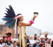 Aztec Dancer stock photography