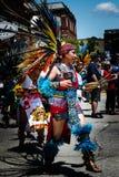 Aztec Dancer stock photography