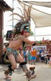 Aztec Dancer Stock Photo