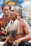 Aztec dancer Royalty Free Stock Image