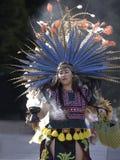 Aztec dancers Stock Photography