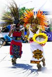 Aztec Dancers Royalty Free Stock Image