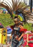 aztec dansare Royaltyfri Bild