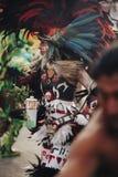 Aztec danser, Mexico - stad Royaltyfri Foto