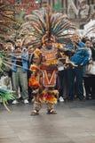 Aztec danser, Mexico - stad Royaltyfri Fotografi