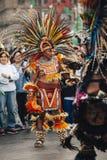 Aztec danser, Mexico - stad Arkivbilder