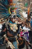 Aztec danser, Mexico - stad Royaltyfria Bilder