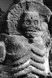 Aztec death I. Aztec representation of the death. Mexico city, Mexico Royalty Free Stock Image