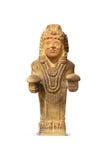 Aztec en Maya Sculptures in Clocolate-Museum stock afbeeldingen