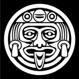 Aztec face mask