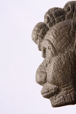 Aztec Fire God. Fire God Xiuhtecuhtli originally carved in Basalt in Vera Cruz, Mexico about 600-900 A.D Stock Photos