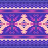 Native Southwest American, Indian, Aztec, Navajo seamless pattern. Geometric design stock illustration