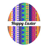 Aztec Happy Easter Royalty Free Stock Images