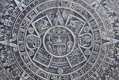 Aztec History Background Stock Photography