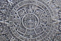Aztec history background Stock Photography