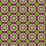 Aztec or Inca Themed Seamless Background Stock Photos