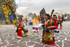 Aztec Indian celebration royalty free stock photos