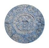 aztec kalender Arkivfoto