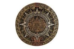 aztec kalender fotografering för bildbyråer