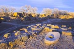 aztec krajowych pomnikowe ruin Fotografia Royalty Free