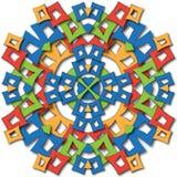 Aztec mandala Stock Photos
