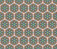 Aztec mandala background Royalty Free Stock Photo