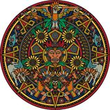 Aztec Mandala Royalty Free Stock Photo