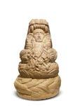 Aztec and Maya Sculptures in Clocolate Museum Stock Photos