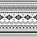 Aztec mexican seamless pattern Stock Photos