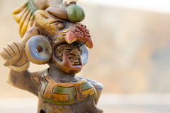 Aztec mexican warrior handicraft Stock Photography