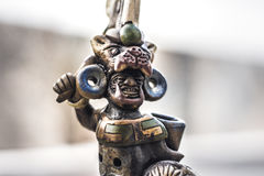 Aztec mexican warrior handicraft Stock Photos