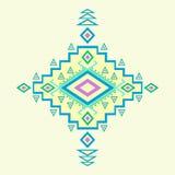 Aztec modell. stock illustrationer