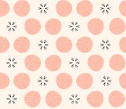 Aztec mosaic seamless geometric pattern in  Royalty Free Stock Image