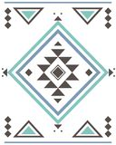 Aztec pattern abrstrac Stock Images
