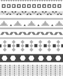 Aztec pattern abrstrac Royalty Free Stock Photography