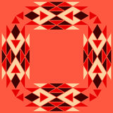 Aztec pattern Stock Images