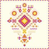 Aztec pattern. Royalty Free Stock Image