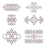Aztec pattern Royalty Free Stock Photography