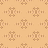 Aztec pattern Royalty Free Stock Images