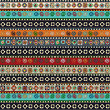 Aztec pattern Stock Photo