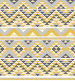 Aztec pattern Royalty Free Stock Photos