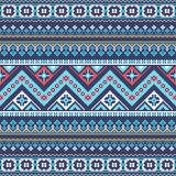 Aztec pixel seamless pattern. Ideal for printing onto fabric, paper, web design. vector illustration