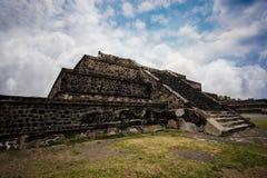 Aztec pyramid Arkivbild